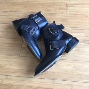 Capezzani italian Buckle Ankle Boots size 37